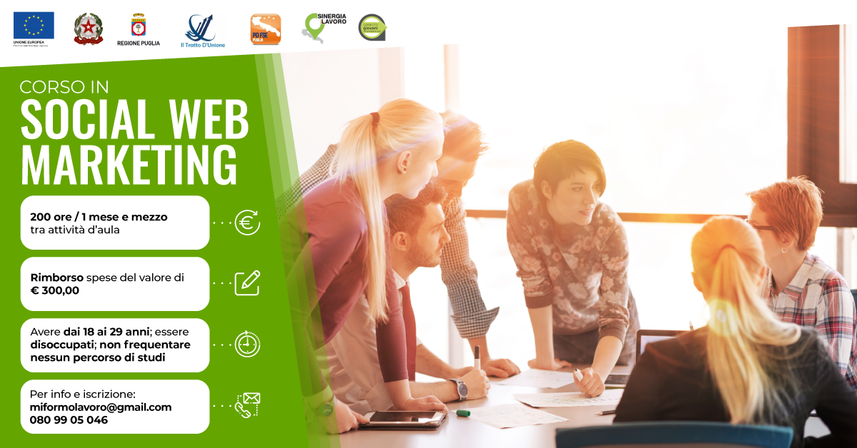 Corso social web marketing